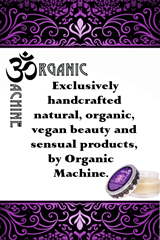 Oh Glow Blog Organic Machine organic vegan sensual products lubricant South Africa