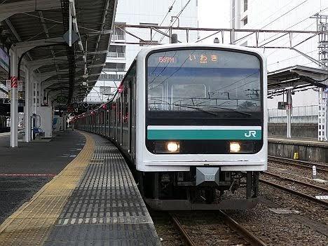 【LED化でリニューアル!】E501系のいわき行き