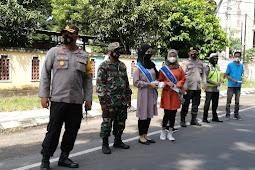 Polres Loteng Bersama PWLT Imbau Masyarakat taati Prokes