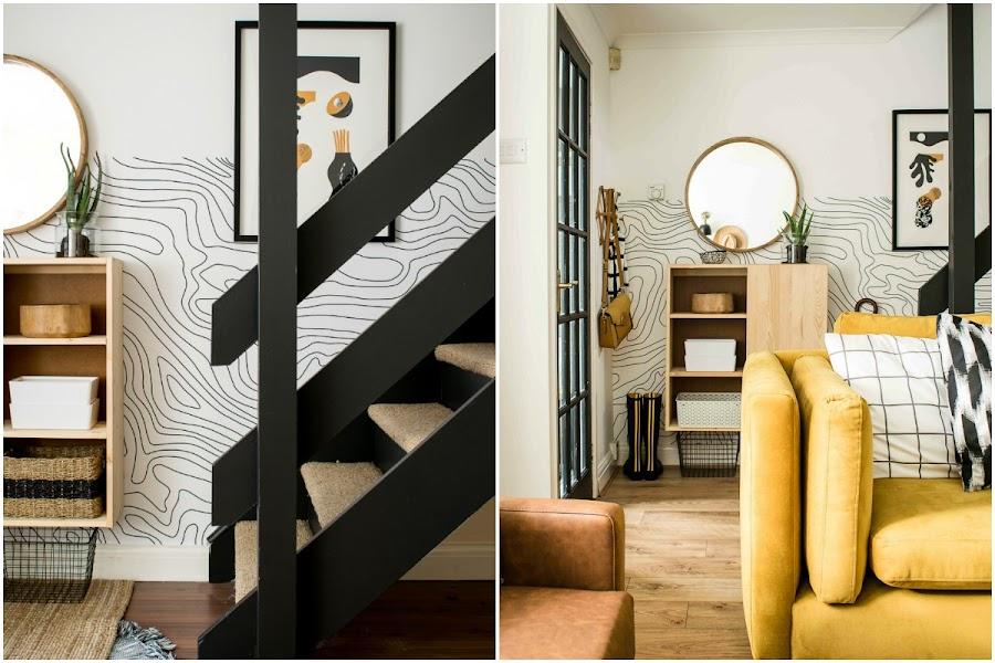 ideas para decorar con muebles de ikea en la entrada de casa