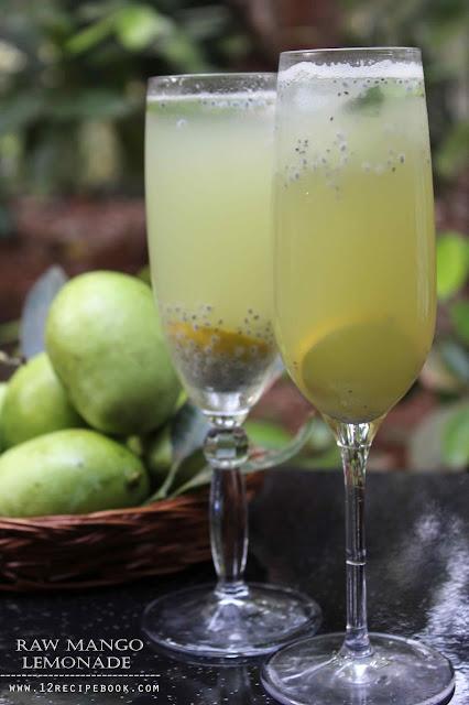 Raw Mango Lemonade