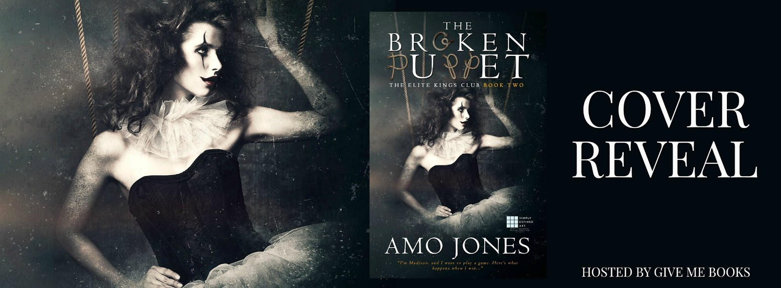 Liv's World of Books: Cover Reveal: The Broken Puppet by Amo