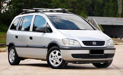 Chevrolet Zafira Modifikasi Dijual