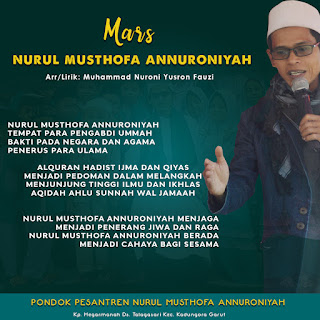 Mars & Hymne Pondok Pesantren Nurul Musthofa Annuroniyah