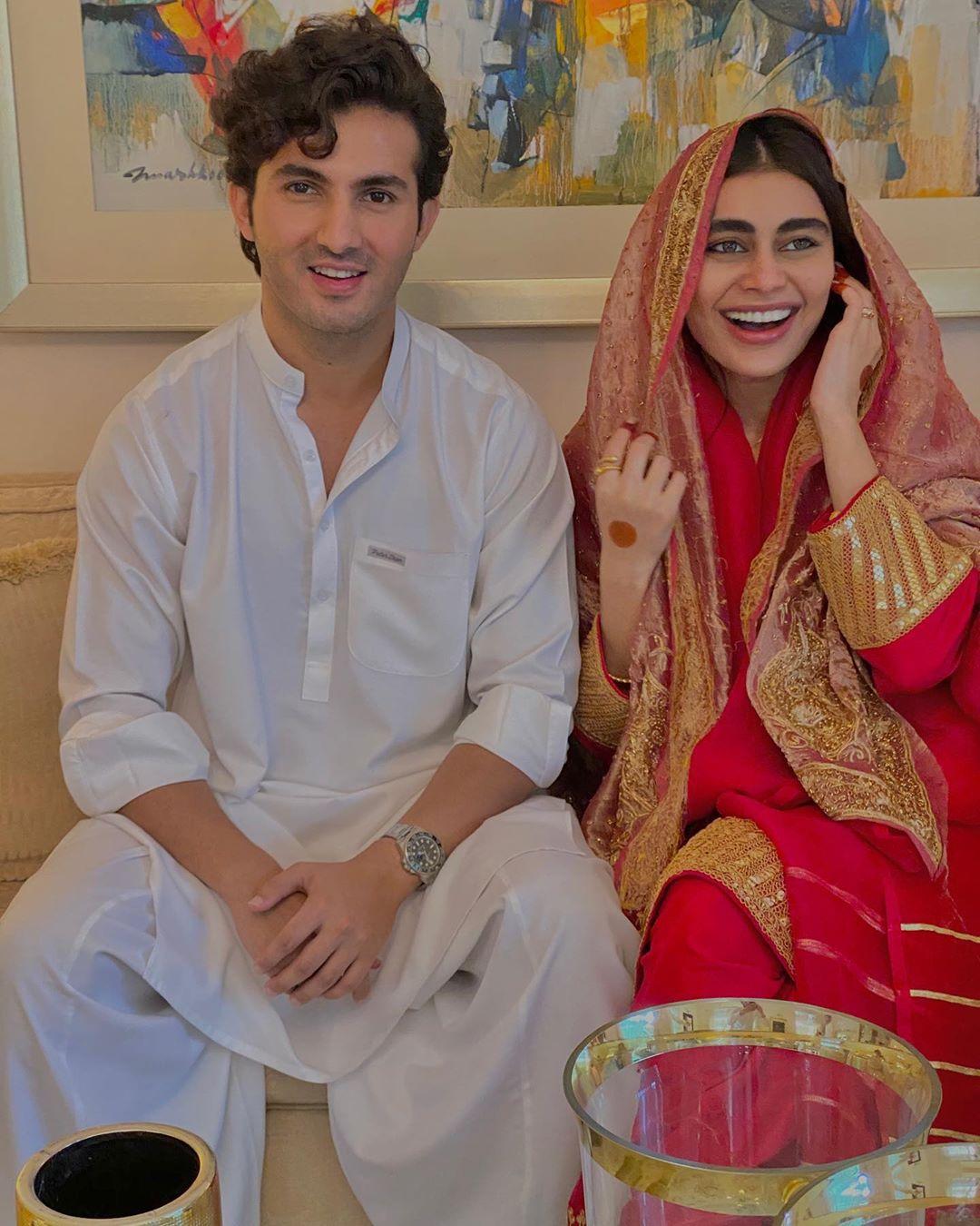 Sadaf Kanwal & Shahroz Sabzwari Nikah Photos