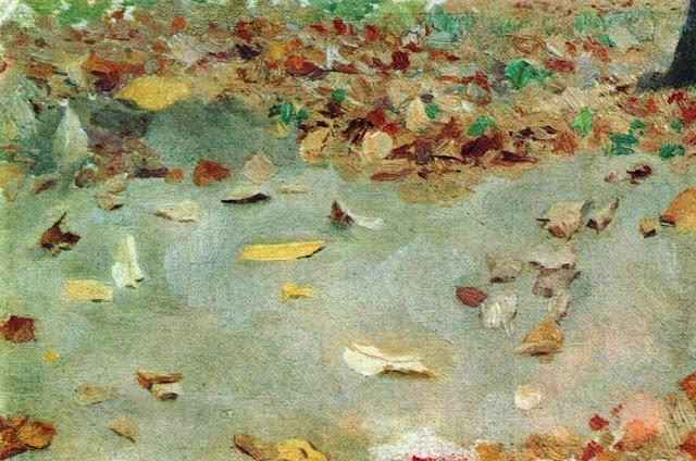 Исаак Ильич Левитан - Осенние листья. 1879
