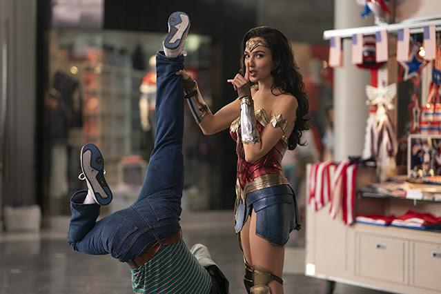 Gal Gadot como Mujer Maravilla. Foto de HBO Max.