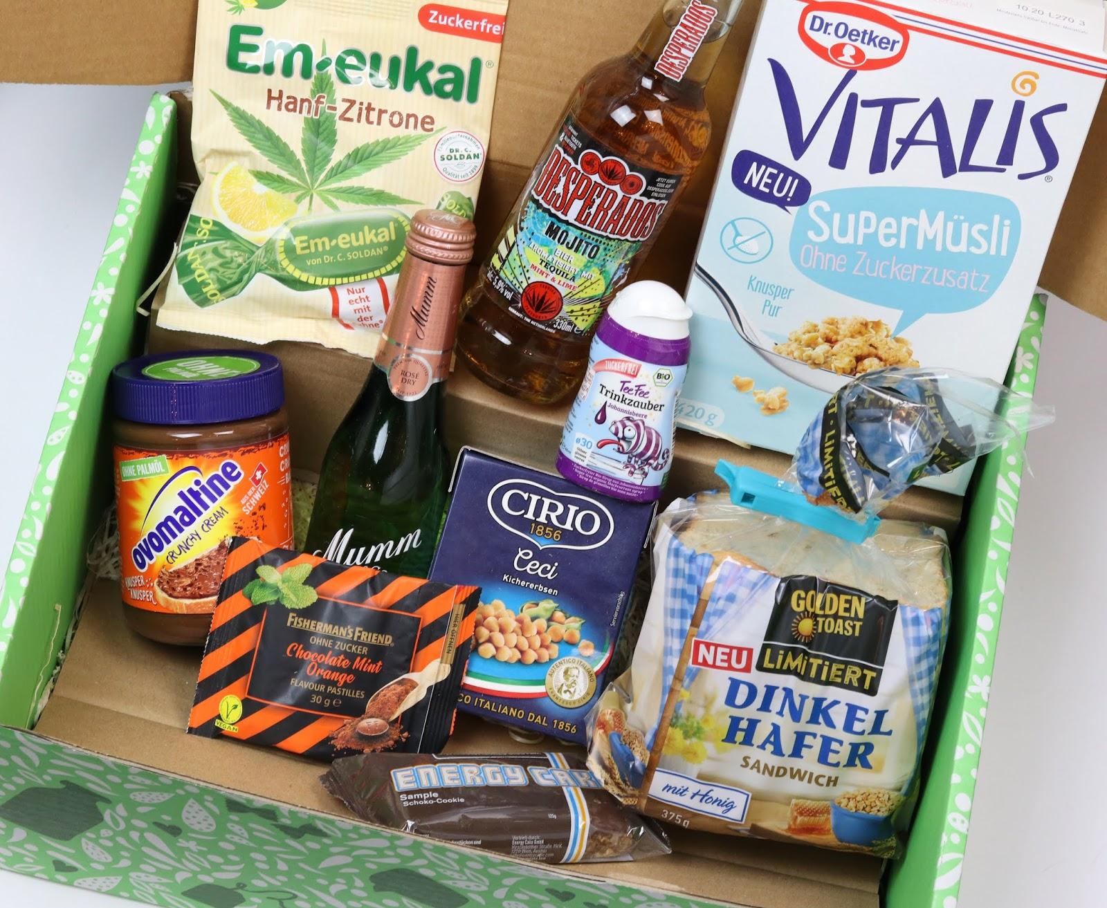 abo, brandnooz box, classic box februar 2020, einkaufsliste, erfahrung, Ernährung, food blogger, genießen, getränke, kochen, neue lebensmittel, probier was neues, review, rezepte, süßigkeiten, unboxing,