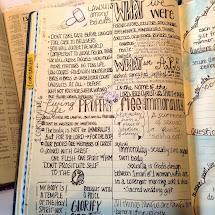 Stone Soup Five Peek Kimberly' Bible Journal