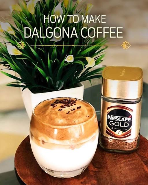 Cara Membuat Dalgona Coffee Nescafe