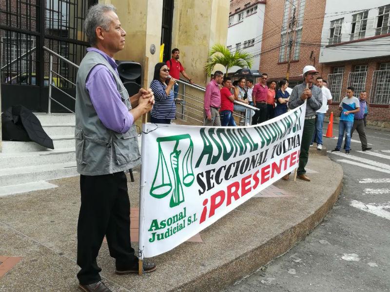 Positivo balance de Asonal Judicial SI a la jornada de movilización del 28 de febrero