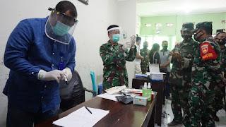 Kodim 0719/Jepara Gelar Vaksinasi Covid-19 Bagi Purnawirawan Dan Warakawuri