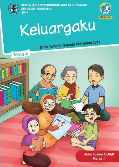 Buku Siswa Kelas 1 Tema 4 Revisi 2017 Kurikulum 2013