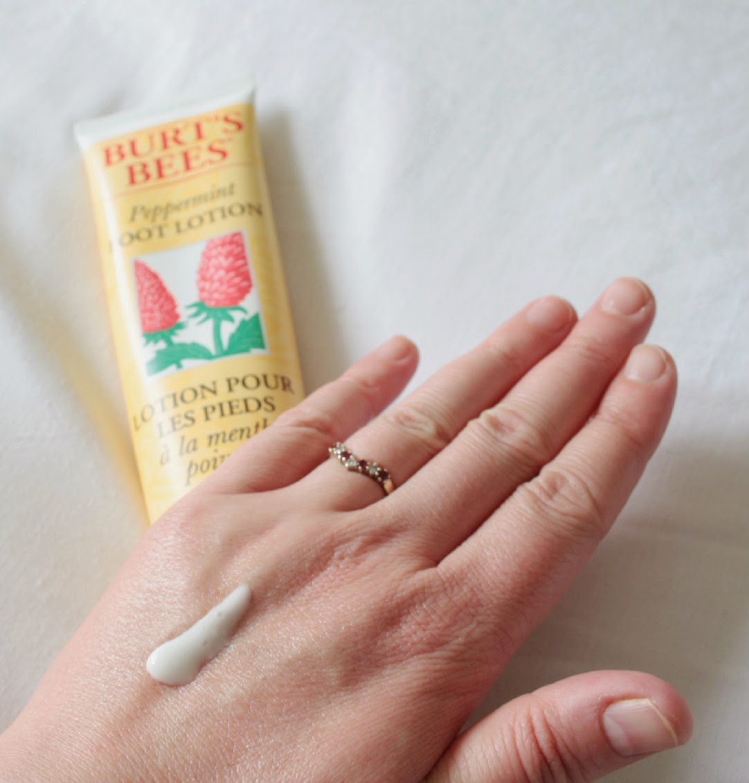 Give your tired tootsies a treat with Burt's Bees Peppermint Foot Lotion - when rubbed in, the peppermint oil will help your feet feel so refreshed!