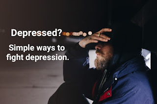 Simple ways to fight depression
