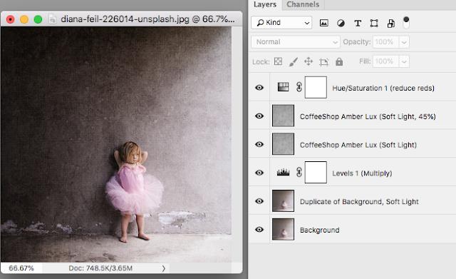 "CoffeeShop ""Amber Lux"" Fine Art Texture Set!"