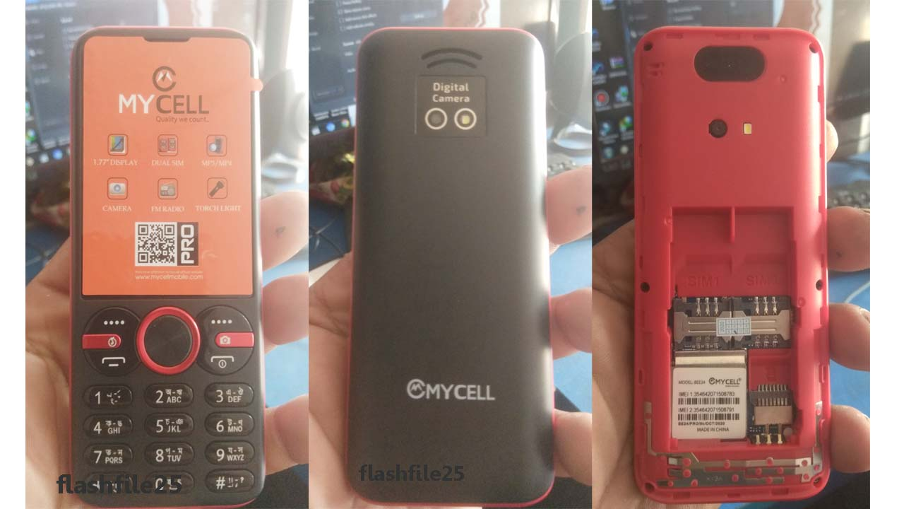 Mycell Bee24 Flash Firmware File