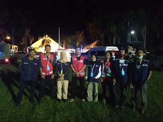 Relawan PMI Sinjai Masih Bersama Pengunsi di Masamba