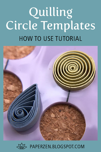 Quilling Circle Template Board Tutorial