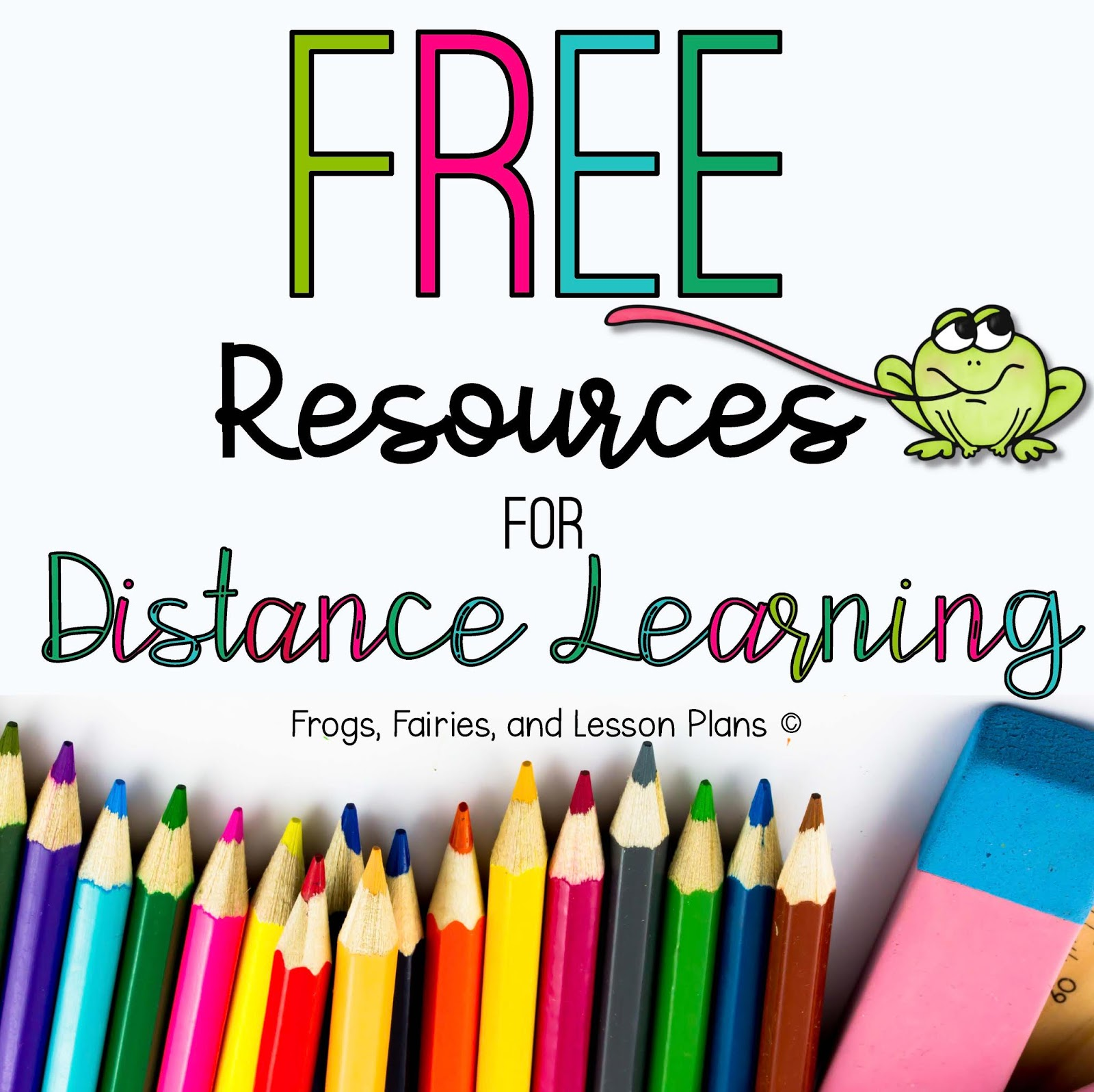 Frogs Fairies And Lesson Plans Free Distance Learning Materials