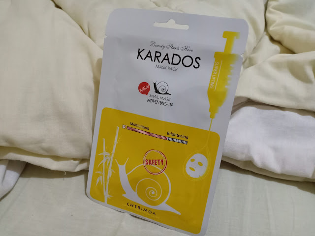 Review sheet mask karados