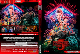 SERIE – Stranger Things 3 (COVER DVD)