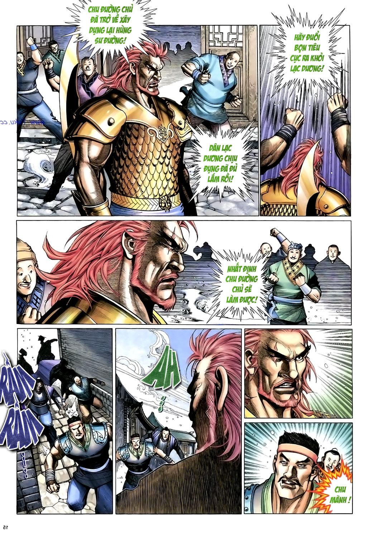 Anh hùng vô lệ Chap 15: Hổ thét long gầm người cạn chén  trang 16