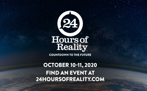 Climate Reality Project 24 Hours of Reality climate change
