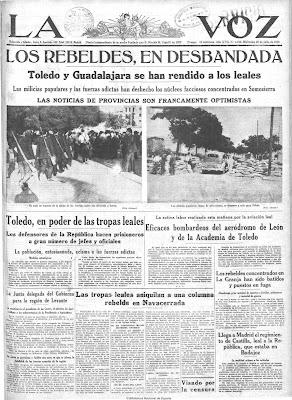 Resultado de imagen de periodicos Toledo Siglo XX