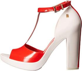 Melissa Shoes High Heel Jelly Sandal