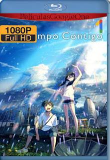 El tiempo contigo (Weathering with You) (2019) [1080p BRrip] [Latino-Japonés] [LaPipiotaHD]