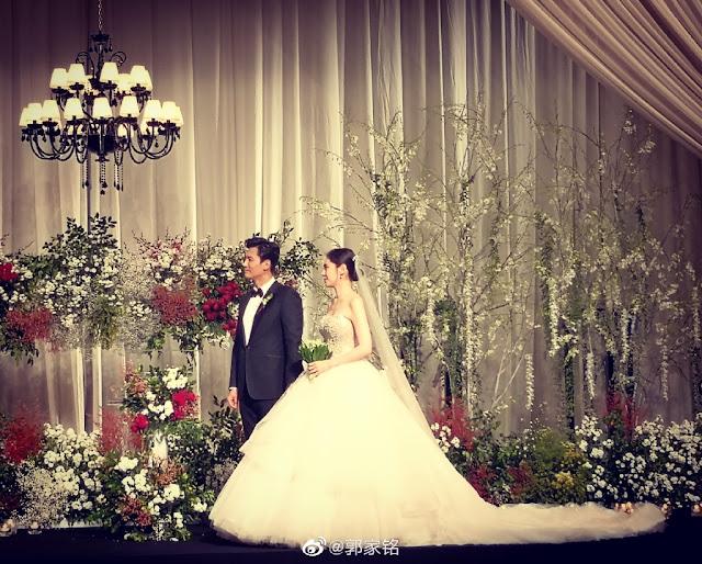 Choo Ja Hyun Yu Xiaoguang Wedding