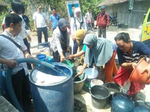 Krisis Air Bersih di Sumberlawang Makin Parah