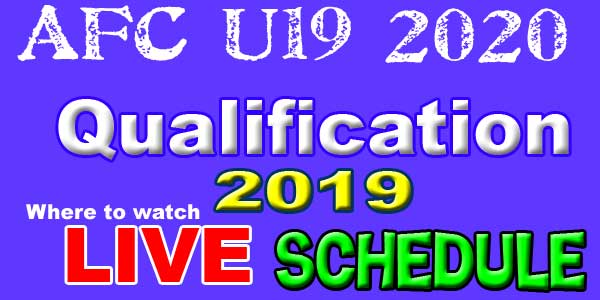 AFC U19 2020 Championship Qualification