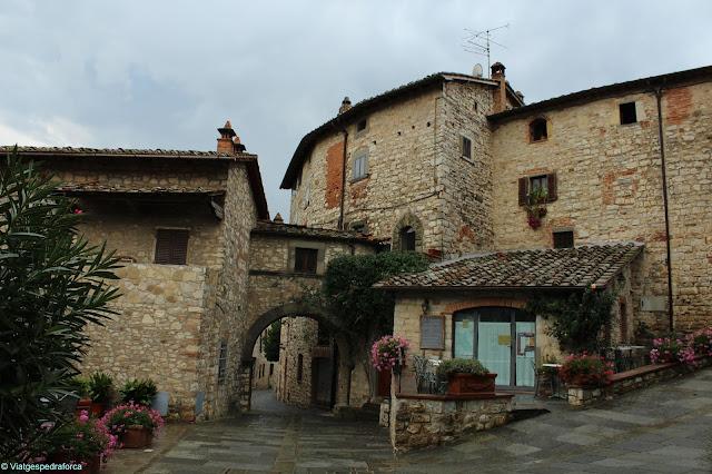Vertine, Chianti, Toscana, Itàlia