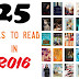 25 Books to Read - Summer 2016
