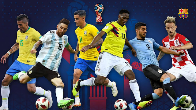 All Barcelona Players Goals In World Cup 2018