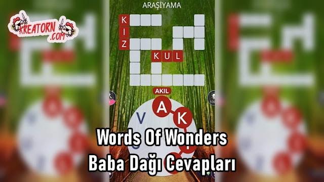 Words-Of-Wonders-Baba-Dagi-Cevaplari
