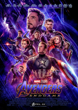 Avengers: Endgame 2019 Full Hindi Movie Download Dual Audio BRRip 720p