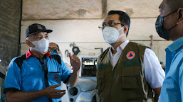 Gubernur NTB Dr. Zul Pastikan Ketersediaan Oksigen di NTB Aman