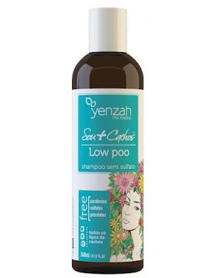 shampo yenzah liberado low poo
