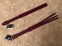 spanking tawse and spanking strap