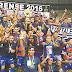 Em Castelão lotado, Fortaleza vence Uniclinic e conquista bicampeonato estadual