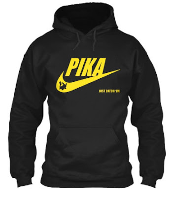 pikachu nike t shirt Hoodie Sweatshirt. GET IT HERE
