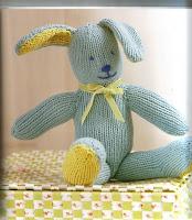 Amigurumi lapin au tricot