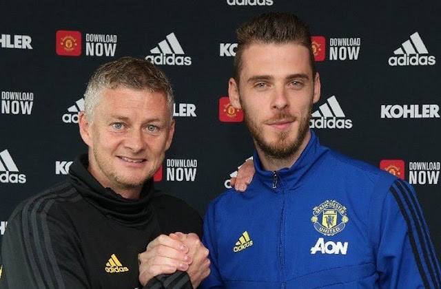 Still Hungry Degree, De Gea Signs New Contract at Manchester United