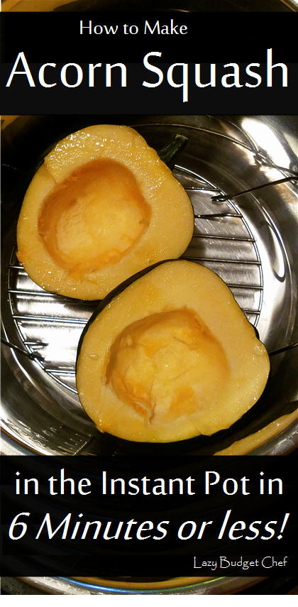 quick and easy instant pot acorn squash recipe