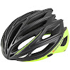 Louis Garneau - HG Men's Sharp Helmet, Medium, Black/Yellow by Louis Garneau - HG