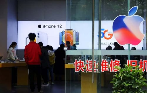Apple is accused of letting China control the national data