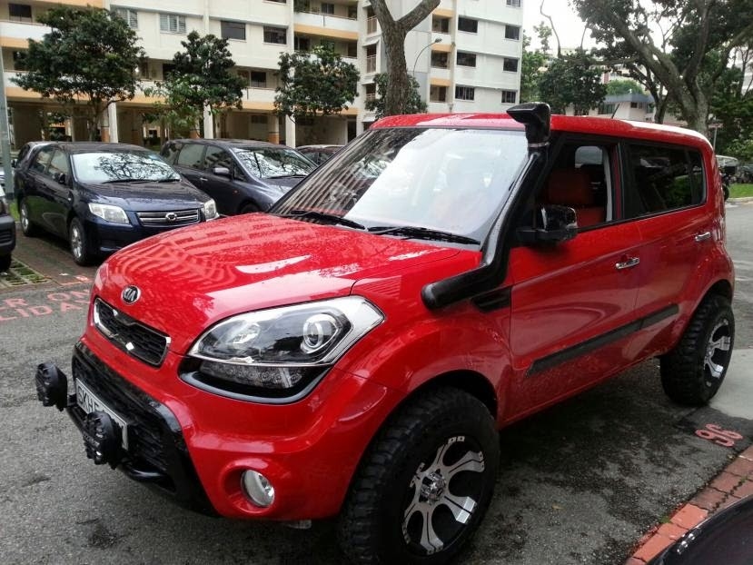 2013 Kia Soul dune buggy, off-road vehicle? - THA KIA SOUL
